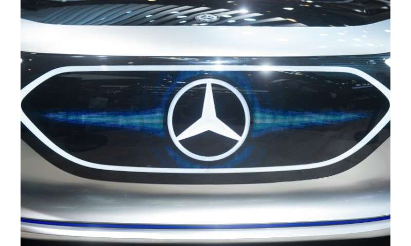 Mercedes-Benz maker Daimler said third quarter earnings were hit by the dieselgate scandal