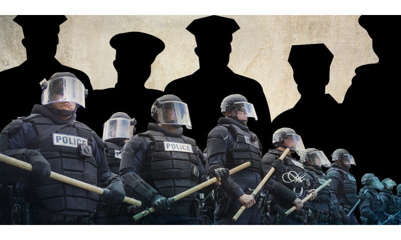 Militarization of police fails to enhance safety, may harm police reputation