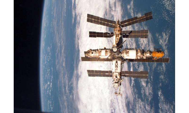 Mir was the last space station launched by the Soviet Union, and was brought down in 2001 after 15 years in orbit