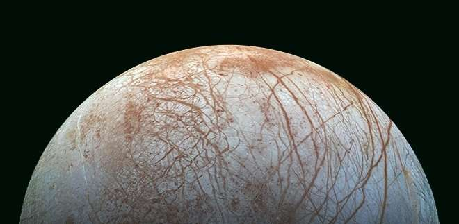 Model based on hydrothermal sources evaluate possibility of life Jupiter's icy moon