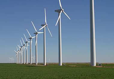 Modeling wind power's impact on local climate