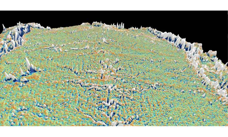 Modelling shows what causes abyssal hills 2.5km below sea level