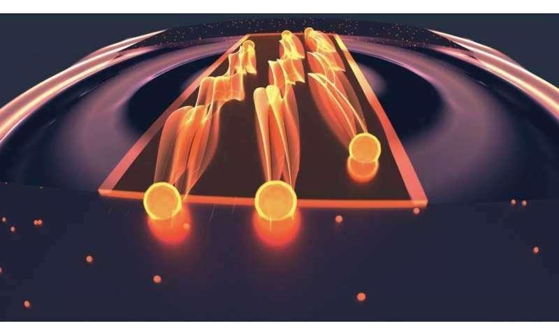 Modified superconductor synapse reveals exotic electron behavior