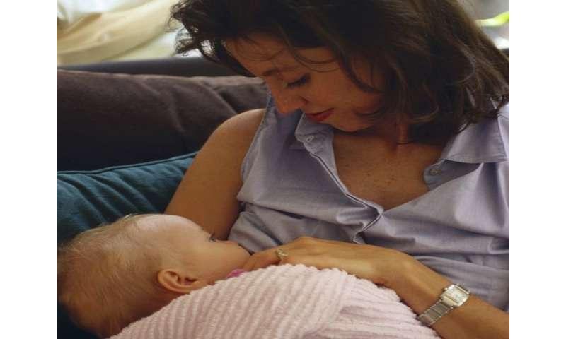 Mom's marijuana winds up in breast milk