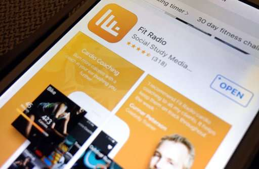 Music firms sue to keep hit songs off fitness streaming app