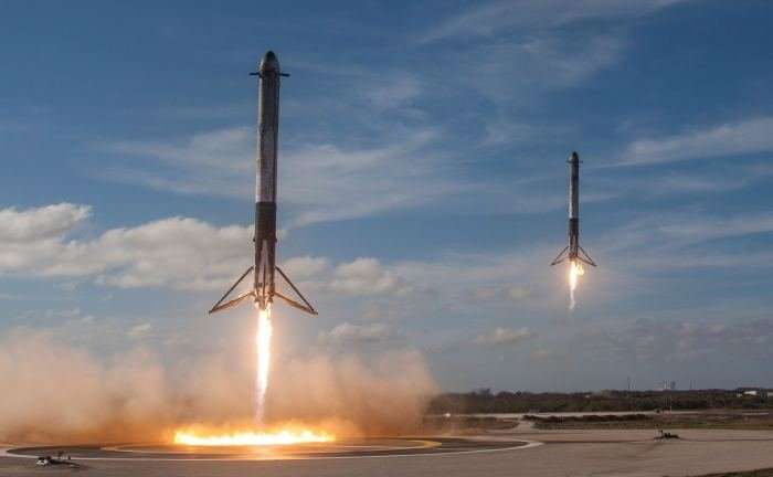 Musk says that SpaceX will use a giant party balloon to bring an upper stage back