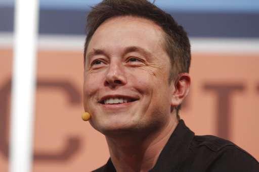 Musk tells newspaper he's cracking under stress of Tesla job