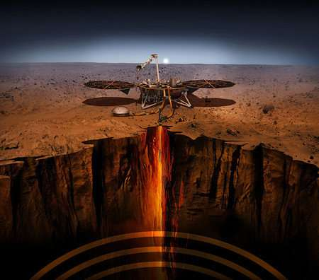 Nailing it: Caltech engineers help show that inSight lander probe can hammer itself into martian soil