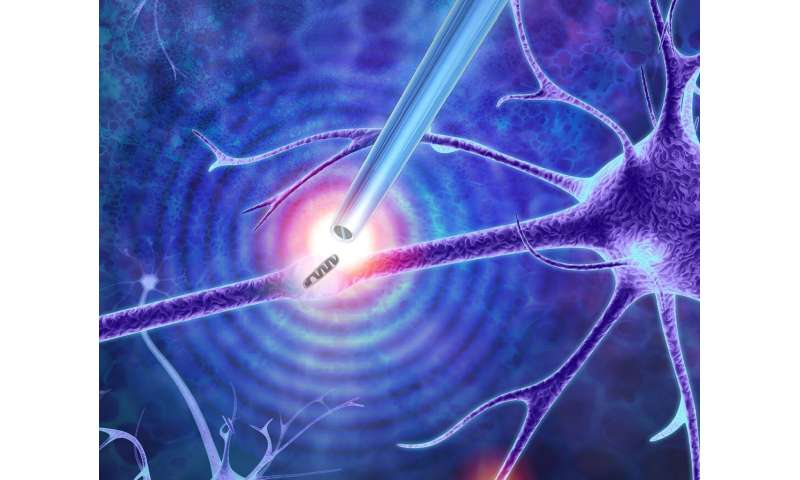 Nanoscale tweezers can perform single-molecule 'biopsies' on individual cells
