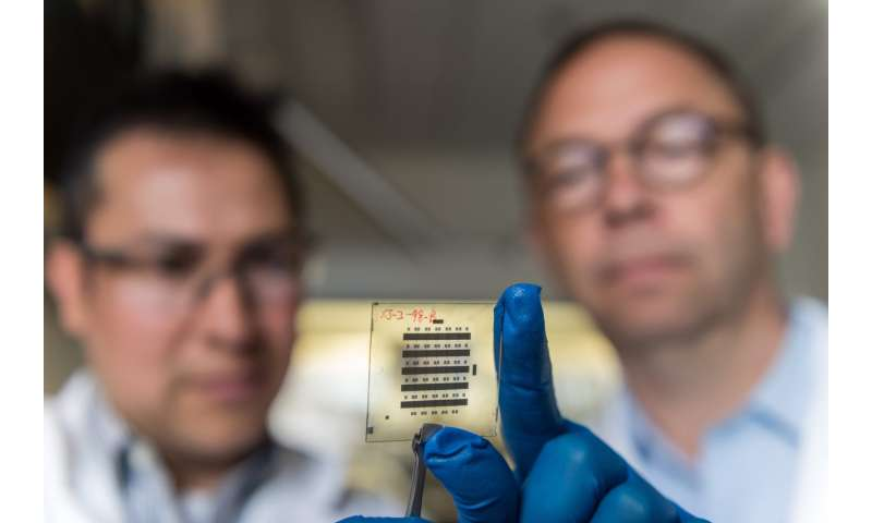 Nanostructure boosts stability of organic thin-film transistors