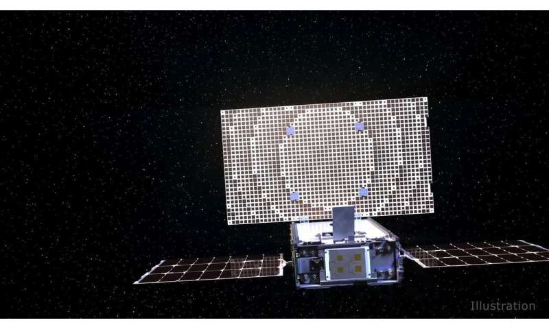 NASA CubeSats steer toward Mars