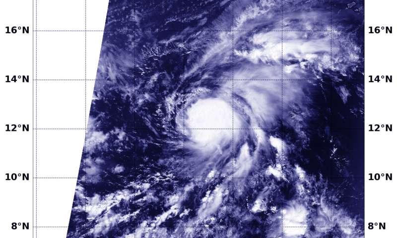 NASA finds Nadine a compact tropical storm