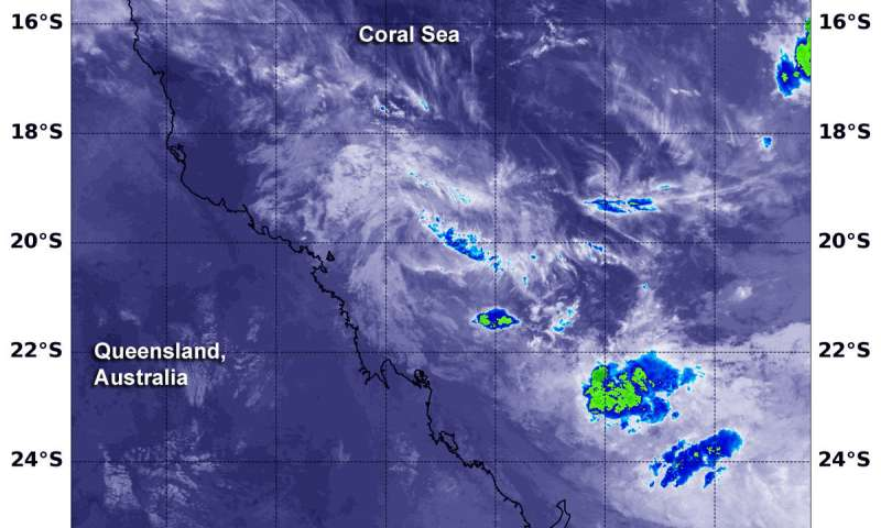 NASA finds tiny remnants of Tropical Cyclone Owen