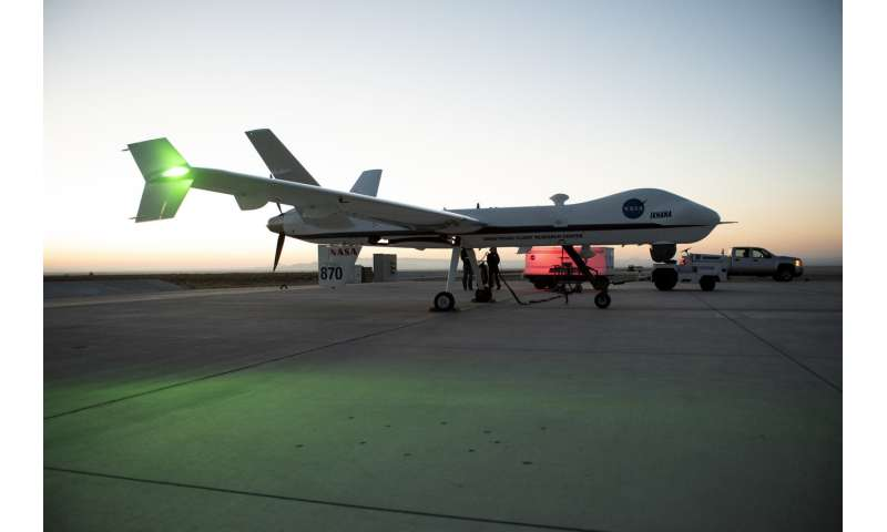 NASA flies large unmanned aircraft in public airspace without chase plane for first time