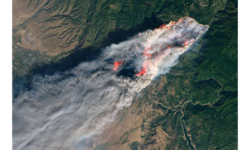 NASA mobilizes to aid California fires response