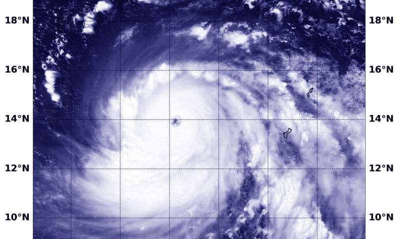 NASA-NOAA satellite tracking Super Typhoon Mangkhut