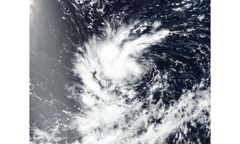 NASA sees 14th Eastern Pacific Tropical Depression form