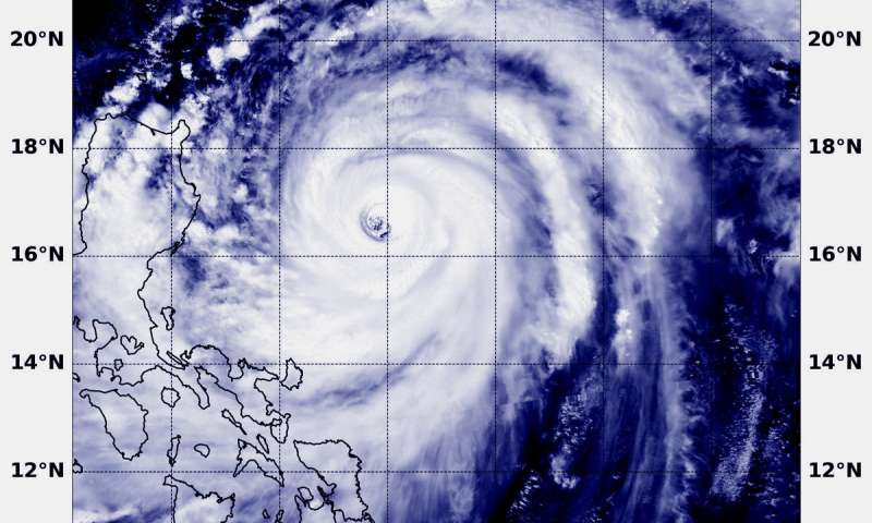 NASA sees dangerous Super Typhoon Mangkhut, eyeing the Philippines