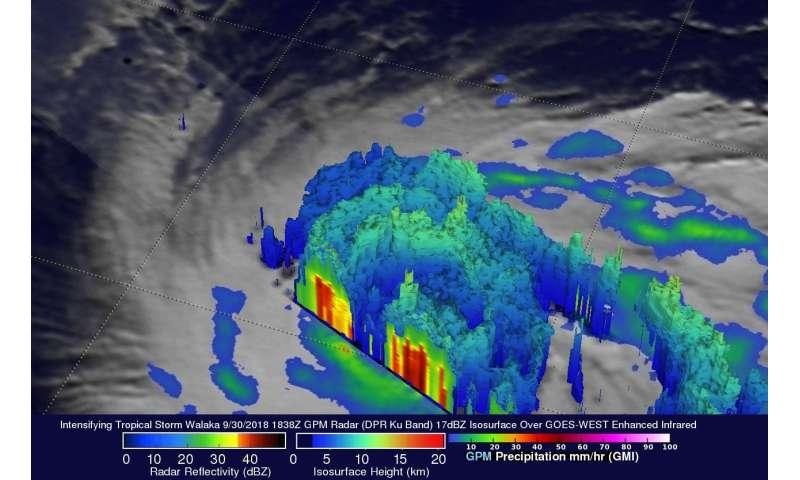 NASA sees Walaka becoming a powerful Hurricane