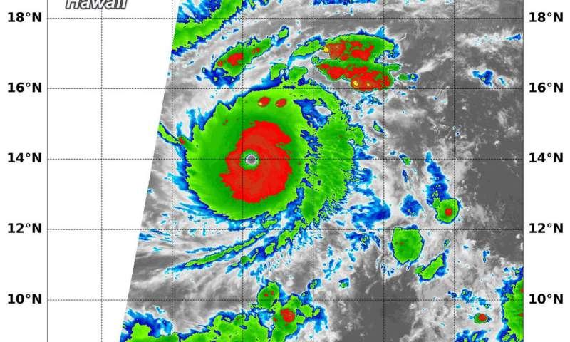 NASA stares major Hurricane Lane in the eye