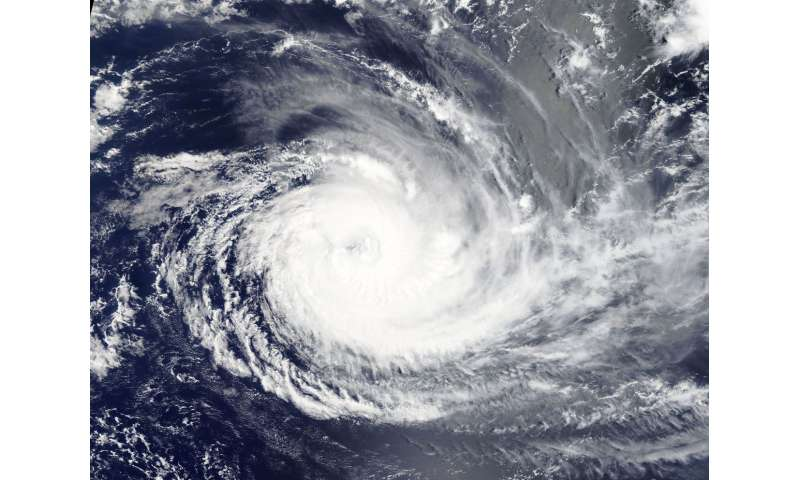 NASA tracks major Tropical Cyclone Cebile in Southern Indian Ocean