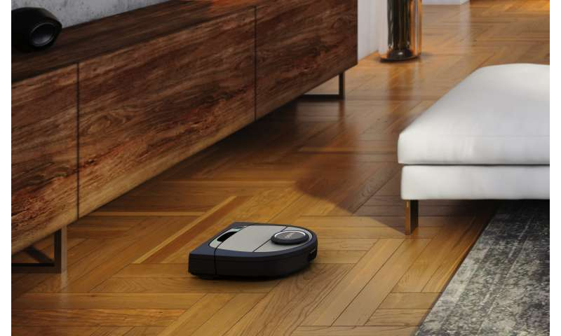 Neato robot vacuum will not tread on dog's bowl
