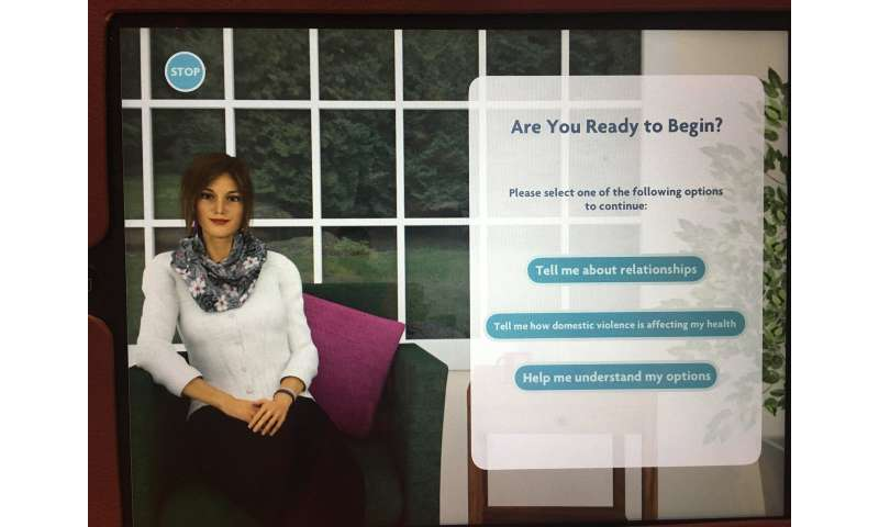 New app helps victims of domestic violence in the privacy of their doctors' office