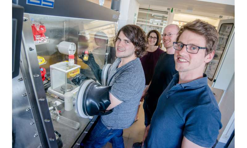 New chemical compounds make catalysts more efficient