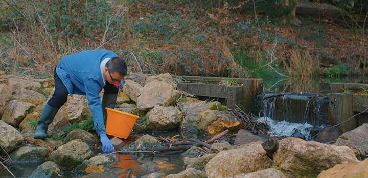 New 'eDNA' method to help monitor UK aquatic diversity