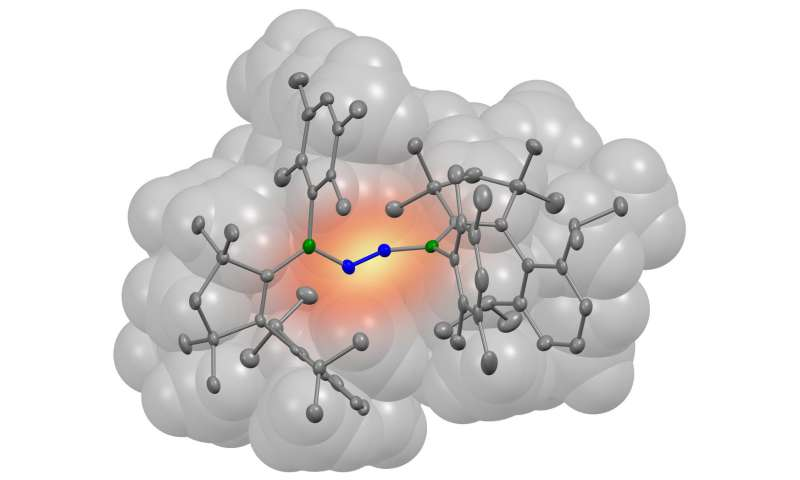 Newly designed molecule binds nitrogen