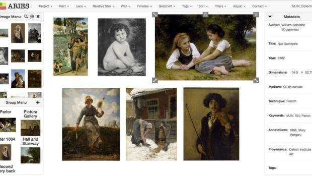 New platform by NYU Tandon, Frick, brings art history research into the digital age
