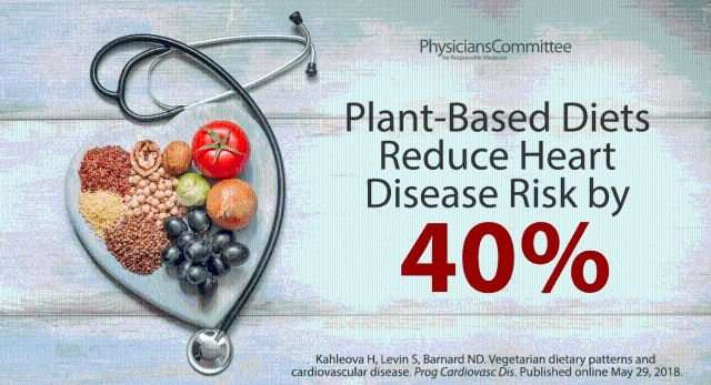 New review highlights benefits of plant-based diets for heart health