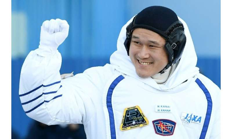 "Norishige ""Neemo"" Kanai of Japan is making his first spacewalk from the International Space Station"