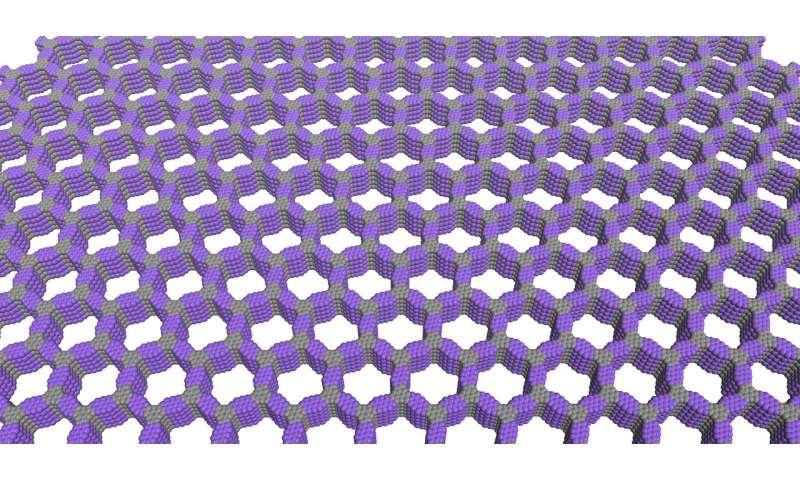 Northwestern researchers achieve unprecedented control of polymer grids