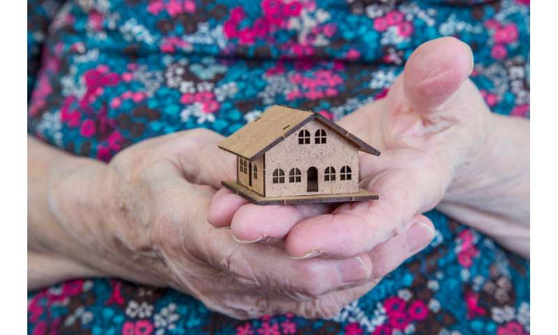 Not enough homes being built for older people, research says