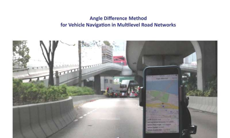Novel solution to a GPS blind spot for safer and smarter driving experience