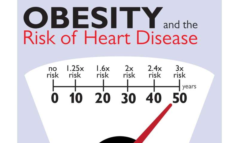 Number of obese years not -- just obesity -- a distinct risk factor for heart damage