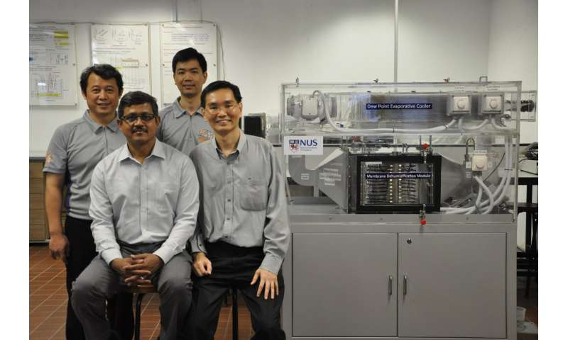 NUS researchers pioneer water-based, eco-friendly and energy-saving air-conditioner