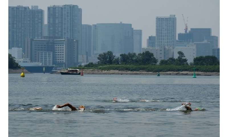 Olympic planners say they are confident that a combination of better sewerage facilities and the introduction of underwater scre