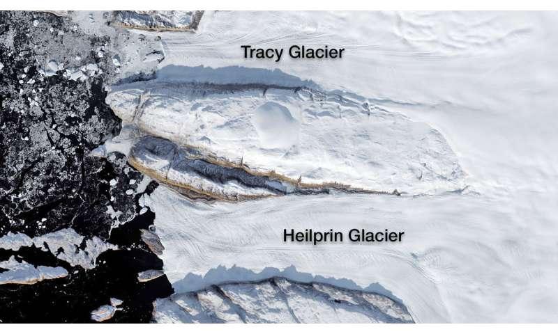OMG, the water's warm! NASA study solves glacier puzzle