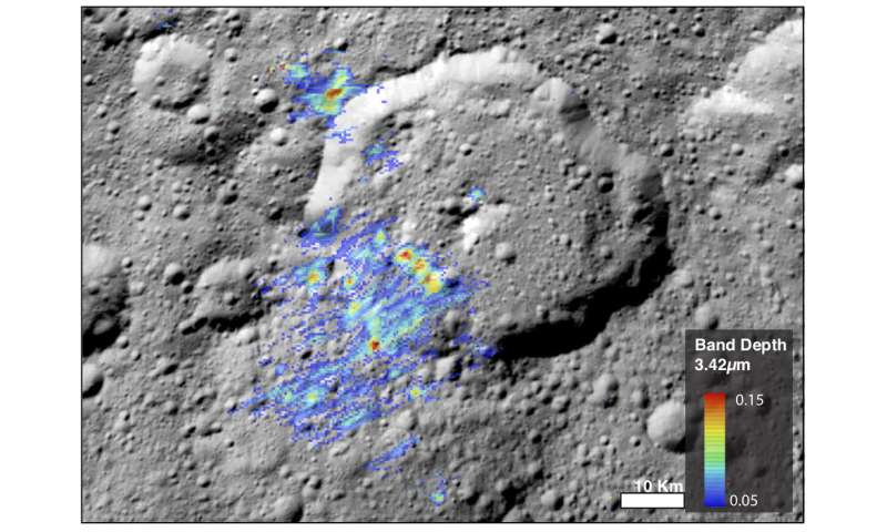 Organics on Ceres may be more abundant that originally thought