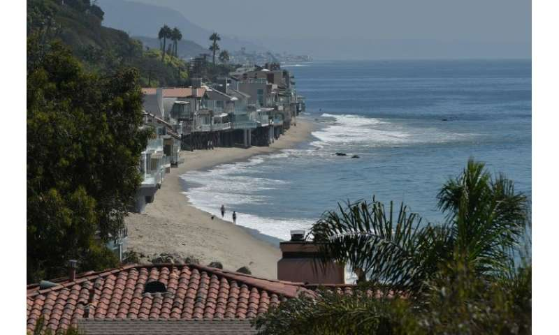 Owners of multi-million-dollar beachfront homes in Malibu, shown here, and elsewhere in California argue that visitors to the pu