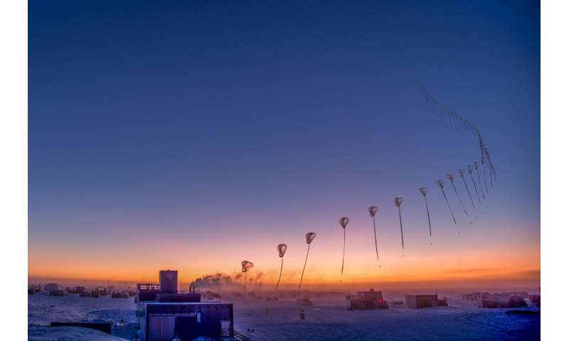 Ozone hole modest despite optimum conditions for ozone depletion