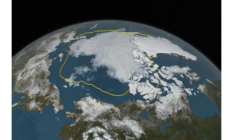 Pacific Ocean's effect on Arctic warming
