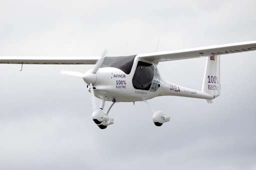 Elektrisch vliegen kan alleen kleinschalig en voor korte afstanden worden ingezet.