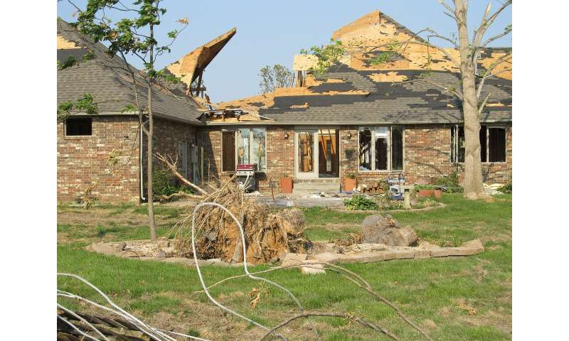Personal growth often coexists with post-traumatic stress following natural disasters