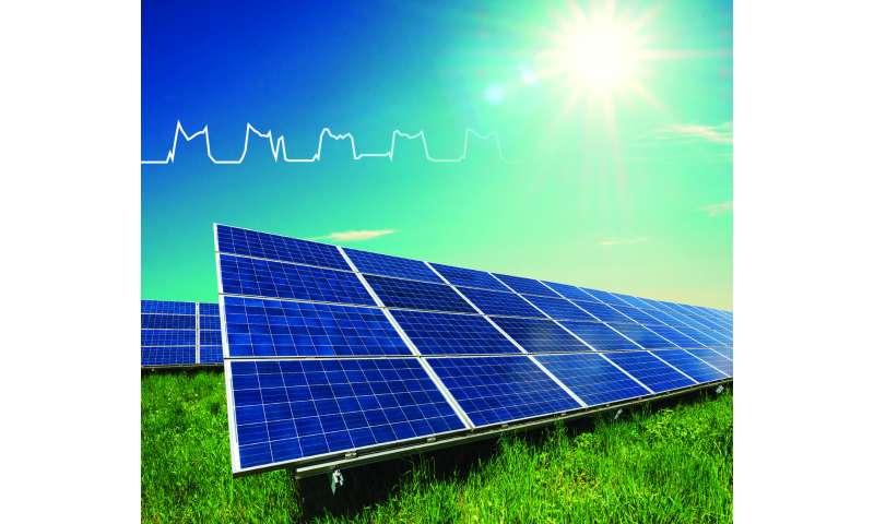 Physics model acts as an 'EKG' for solar panel health