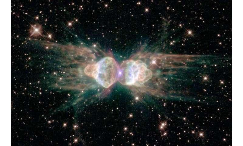 Planetary nebula lasers