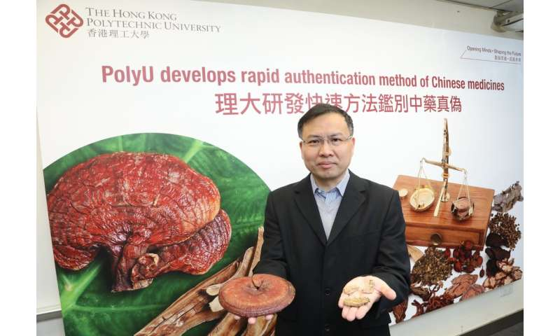 PolyU develops rapid authentication method of Chinese medicines