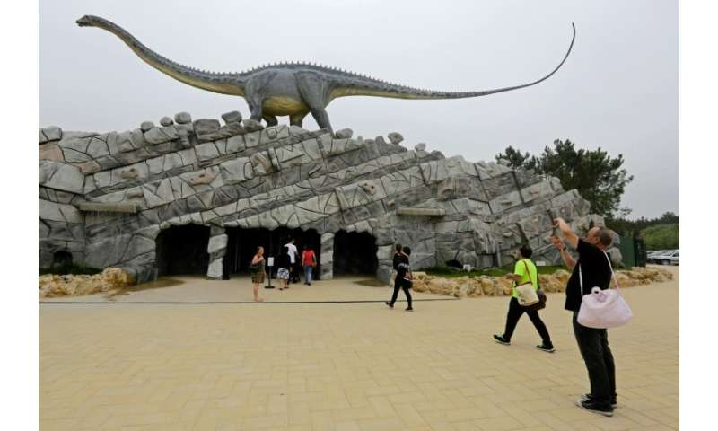 Portugal's Dino Park is a new theme park in one of the most fossil-rich regions in Europe